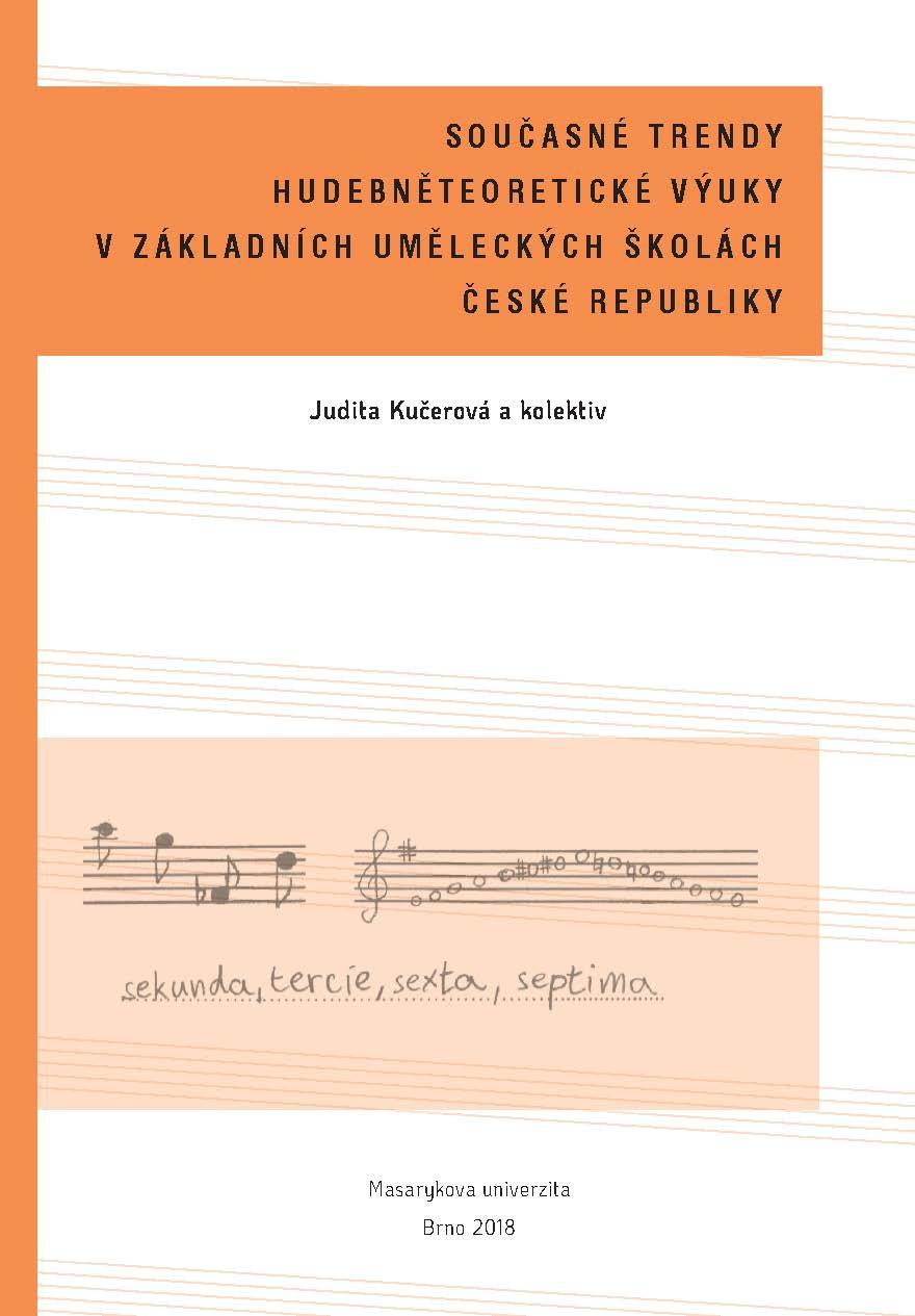 Obálka pro Současné trendy hudebněteoretické výuky v základních uměleckých školách České republiky