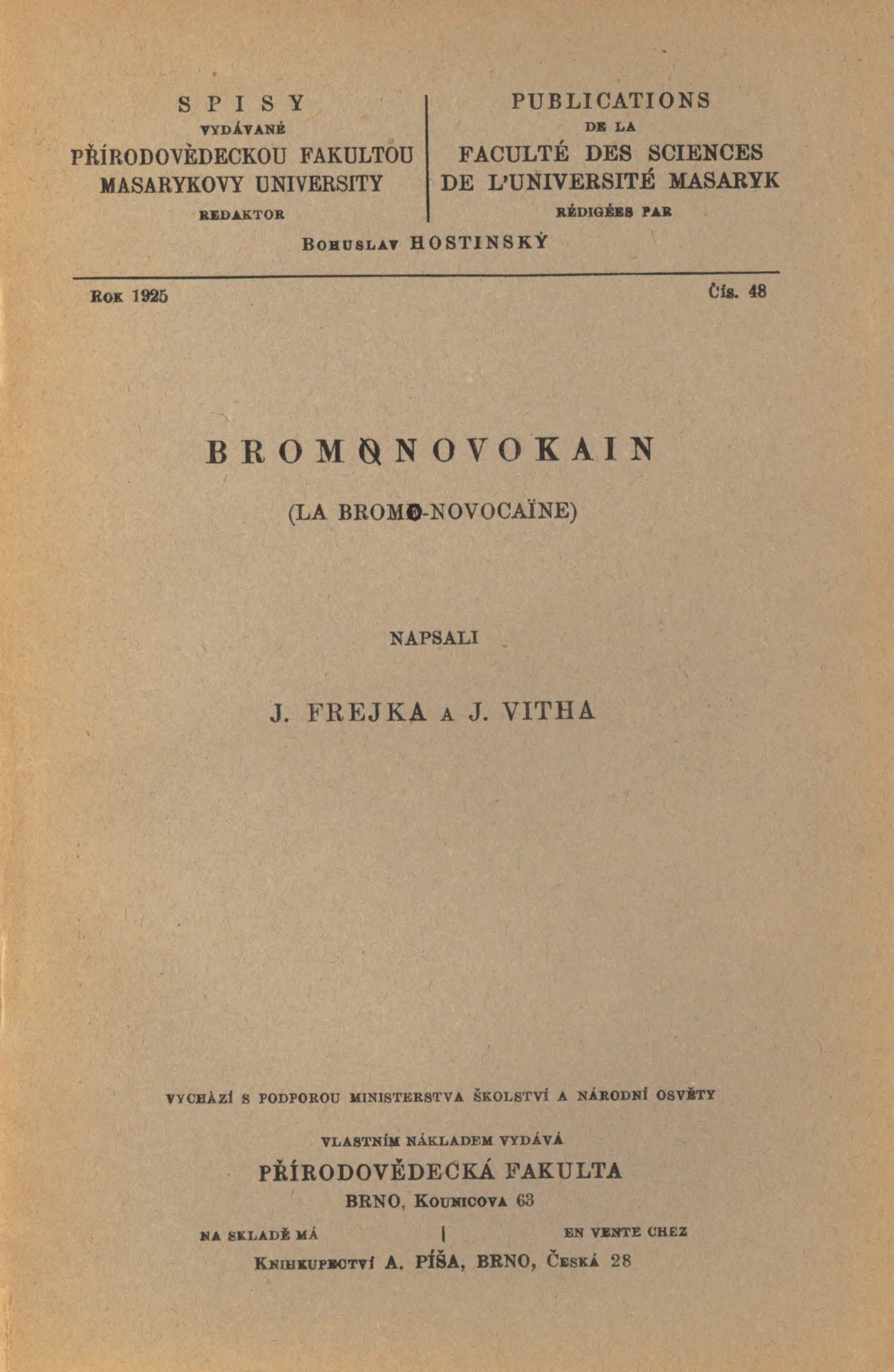Obálka pro Bromonovokain