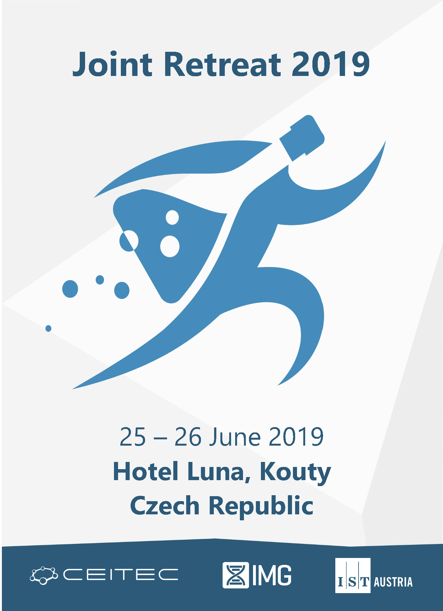 Obálka pro Joint Retreat 2019. Book of Abstracts