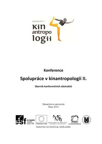 Obálka pro Konference Spolupráce v kinantropologii II. Sborník konferenčních abstraktů