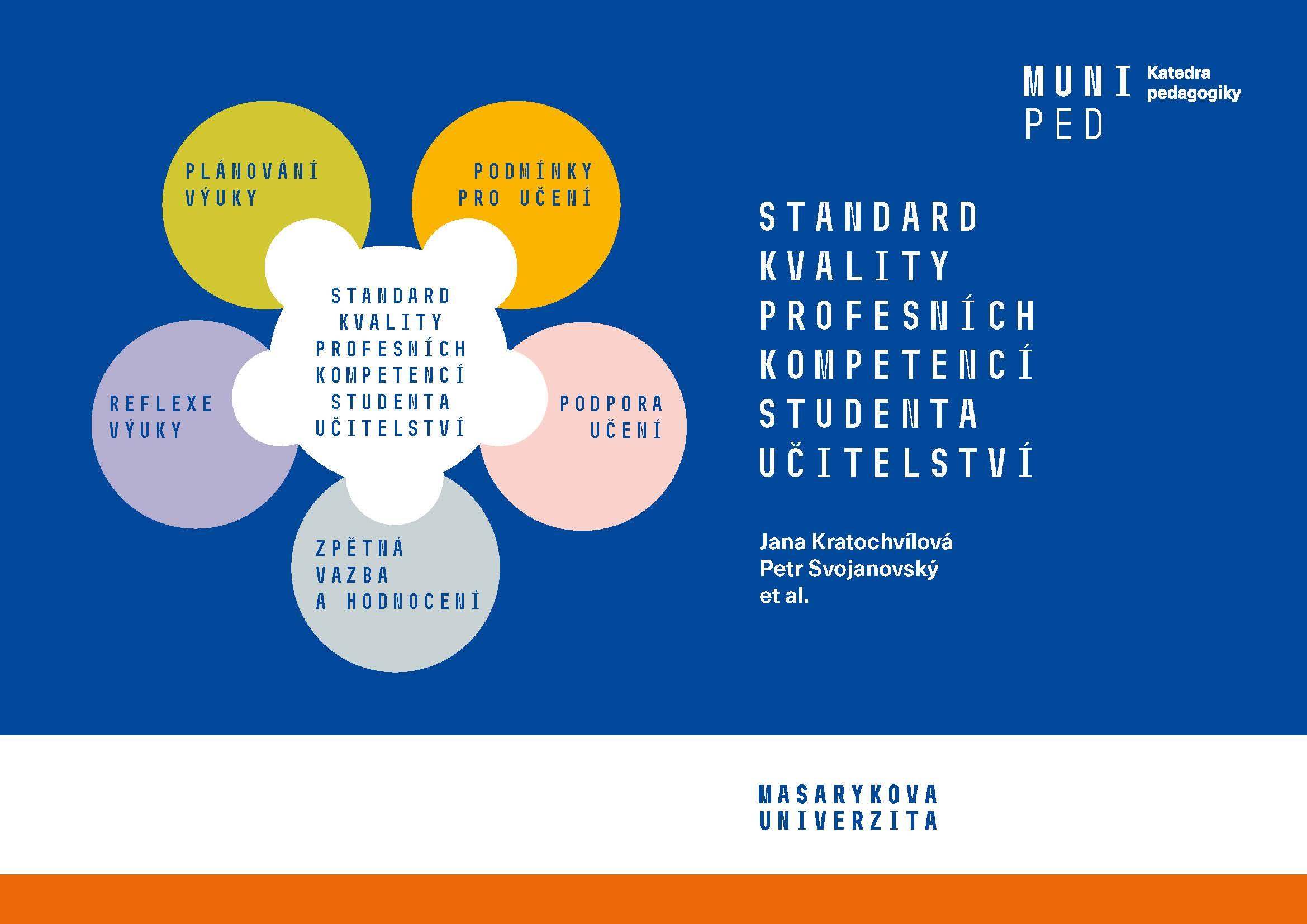 Obálka pro Standard kvality profesních kompetencí studenta učitelství