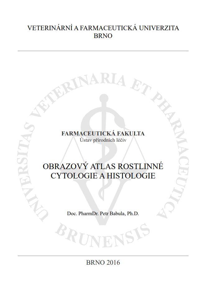 Obálka pro Obrazový atlas rostlinné cytologie a histologie