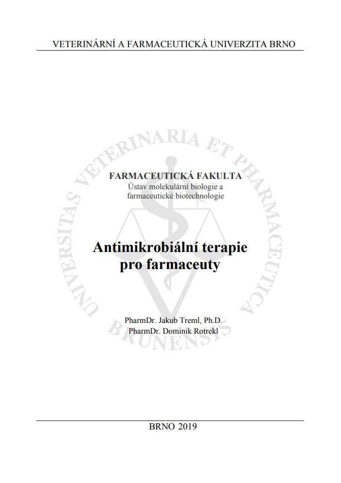 Obálka pro Antimikrobiální terapie pro farmaceuty