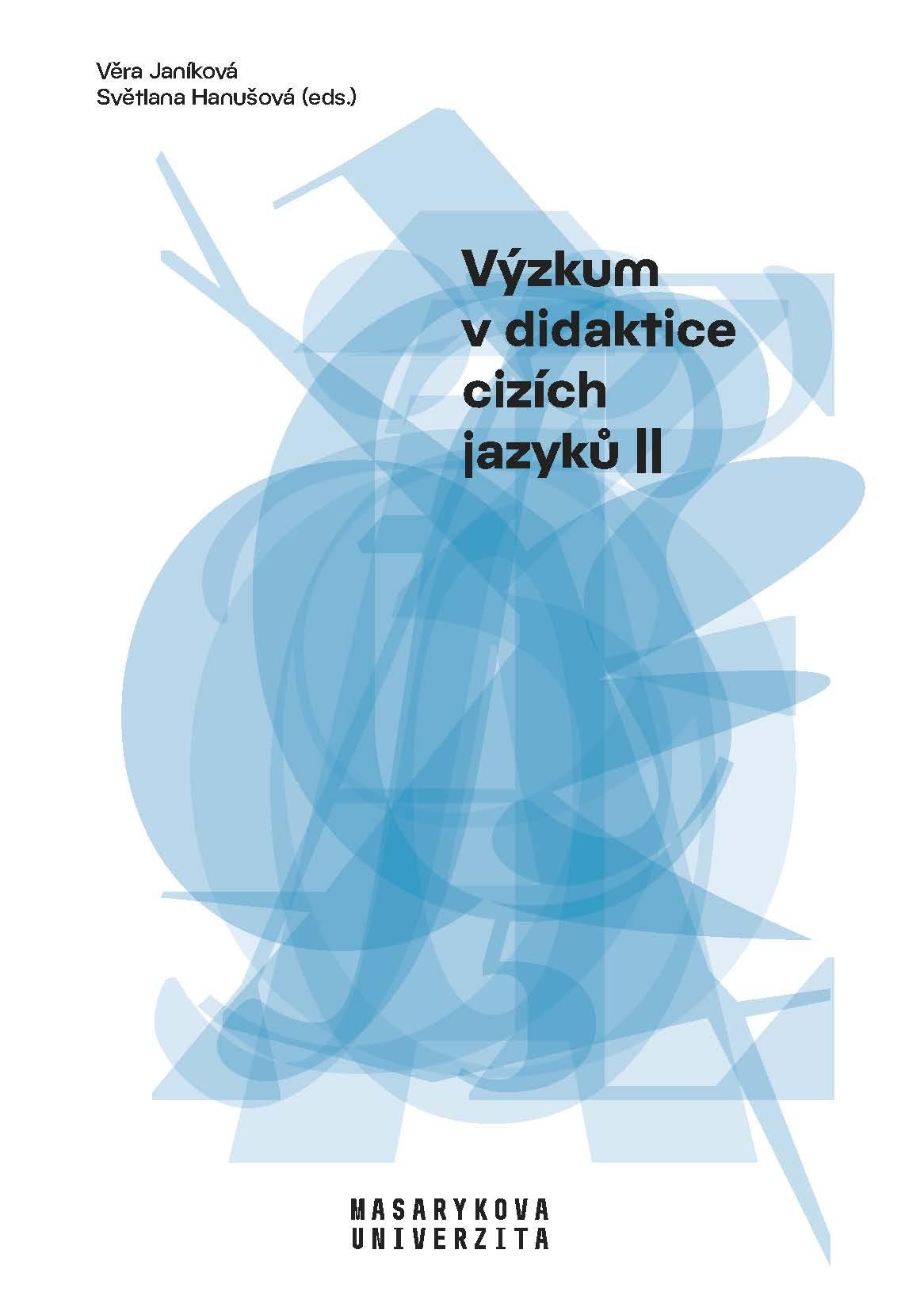 Obálka pro Výzkum v didaktice cizích jazyků II