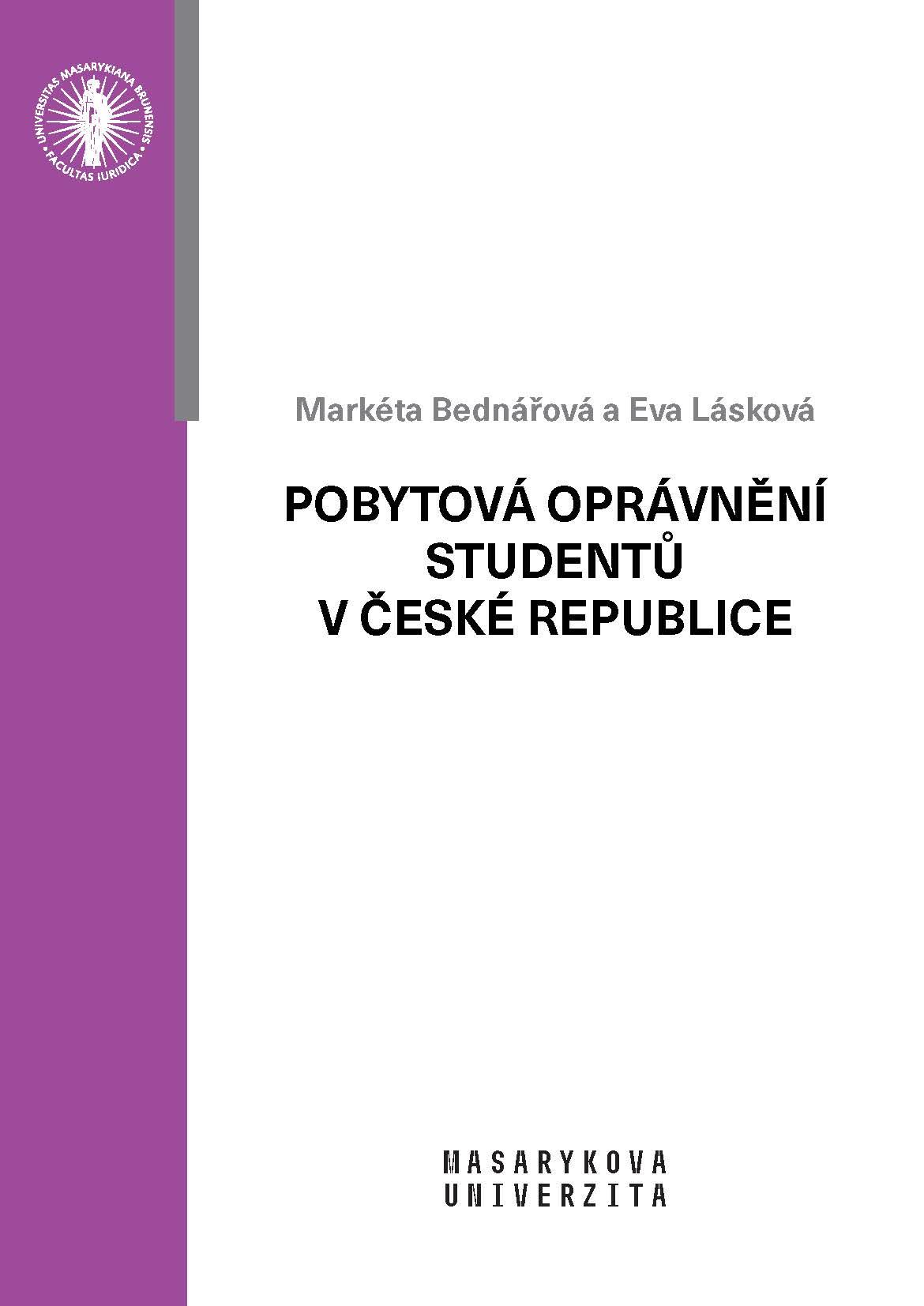 Obálka pro Pobytová oprávnění studentů v České republice