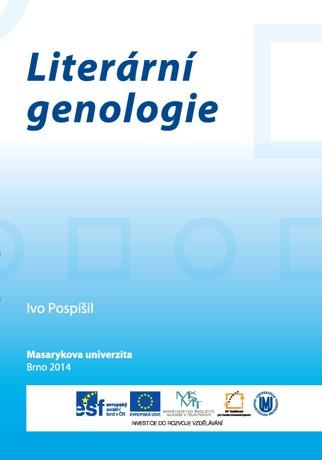 Obálka pro Literární genologie