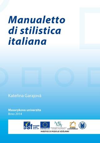 Obálka pro Manualetto di stilistica italiana