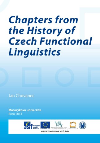 Obálka pro Chapters from the History of Czech Functional Linguistics