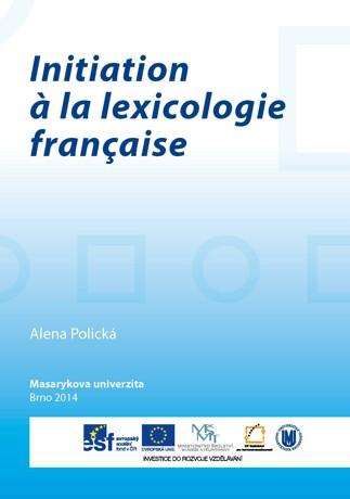 Obálka pro Initiation à la lexicologie française