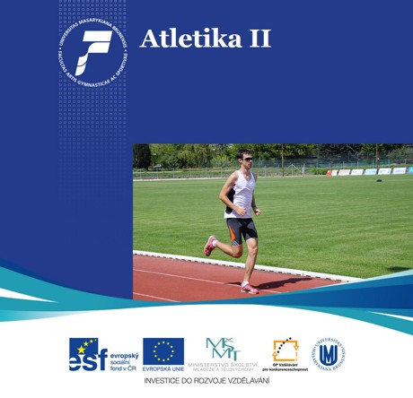 Obálka pro Atletika II. Běžecké disciplíny, chůze