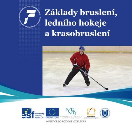 Obálka pro Základy bruslení, ledního hokeje a krasobruslení