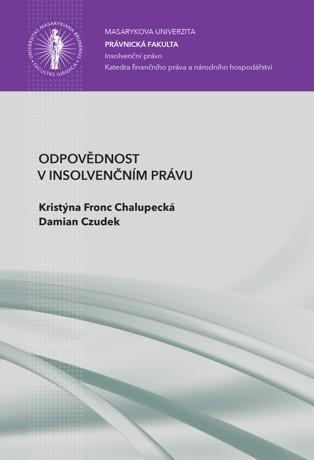 Obálka pro Odpovědnost v insolvenčním právu