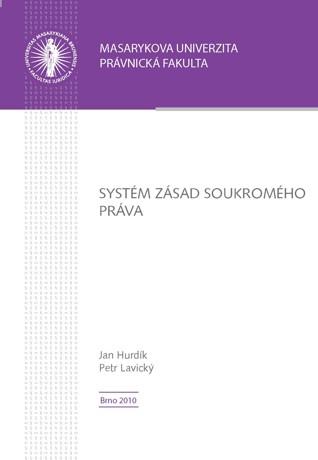 Obálka pro Systém zásad soukromého práva