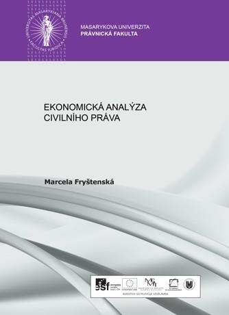 Obálka pro Ekonomická analýza civilního práva