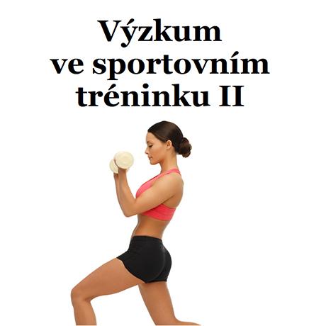 Obálka pro Výzkum ve sportovním tréninku II