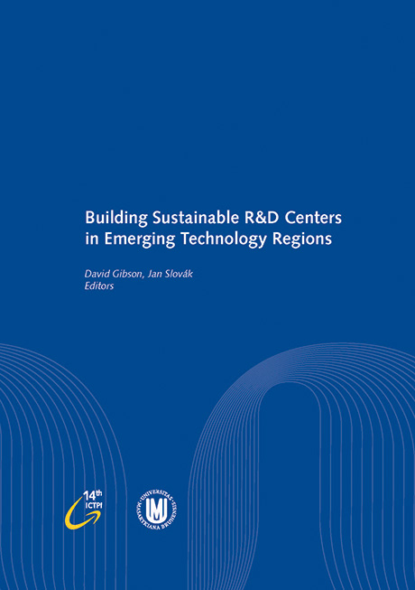 Obálka pro Building Sustainable R&D Centers in Emerging Technology Regions