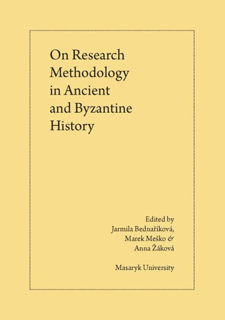 Obálka pro On Research Methodology in Ancient and Byzantine History