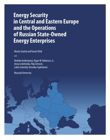 Obálka pro Energy Security in Central and Eastern Europe and the Operations of Russian State-Owned Energy Enterprises