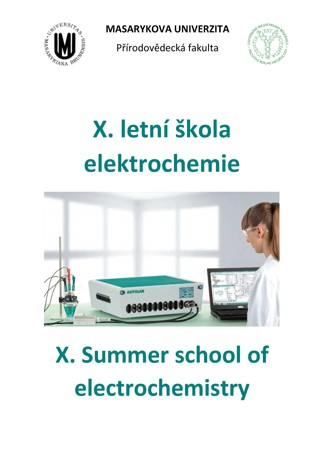 Obálka pro X. letní škola elektrochemie