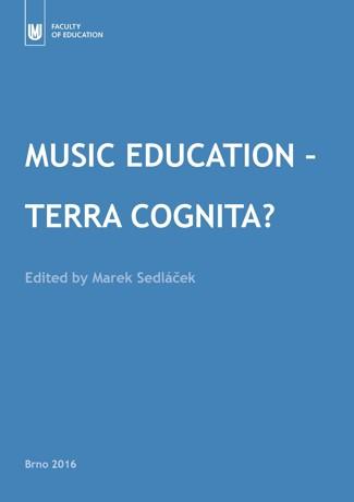 Obálka pro Music Education – Terra Cognita?