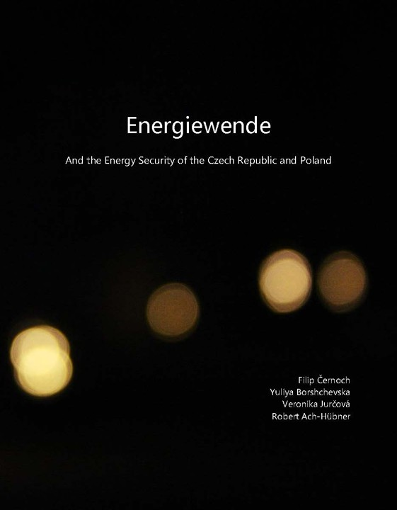 Obálka pro Energiewende: And the Energy Security of the Czech Republic and Poland