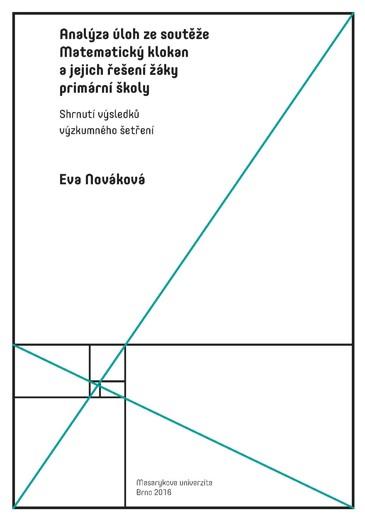 Obálka pro Analýza úloh ze soutěže Matematický klokan a jejich řešení žáky primární školy: Shrnutí výsledků výzkumného šetření