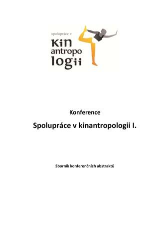 Obálka pro Spolupráce v kinantropologii I. Sborník konferenčních abstraktů