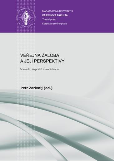 Obálka pro Veřejná žaloba a její perspektivy. Sborník příspěvků z workshopu