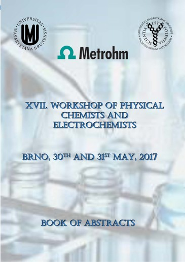 Obálka pro XVII. Workshop of Phyisical Chemists and Electrochemists. Book of Abstracts