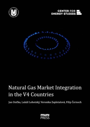 Obálka pro Natural Gas Market Integration in the V4 Countries