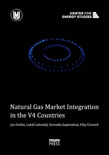 Obálka pro Natural Gas Market Integration in the V4 Countries