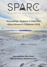 Obálka pro Proceedings: Students in Polar and Alpine Research Conference 2018