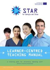 Obálka pro Learner-centred Teaching Manual. A Training Pack for University Teaching Staff