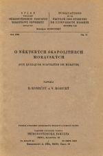 Obálka pro O některých skapolithech moravských/Sur quelques scapolites de Moravie