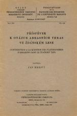 Obálka pro Příspěvek k otázce abrasních teras ve Ždánském lese/Contribution à la question des plates-formes d'abrasion dans le Ždánský les