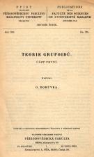 Obálka pro Teorie grupoidů. Část první