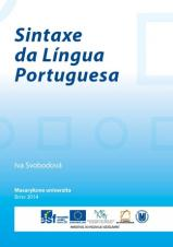 Obálka pro Sintaxe da Língua Portuguesa