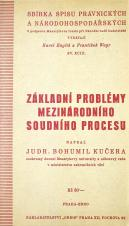 Základní problémy mezinárodního soudního procesu