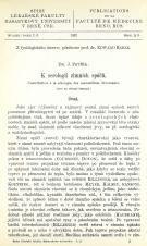 K serologii zimních spáčů / Contribution à la sérologie des mammifères hivernants