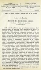 Obálka pro Příspěvek ke charakteristice heminů / Contribution à l'étude de la chlorhémine