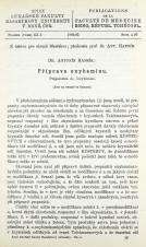 Příprava oxyheminu / Préparation de l'oxyhémine