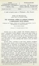 Vliv koloidního stříbra na pohlavní elementy a embryonální vývoj Arbacie / L'influence de l'argent colloidal sur les éléments reproducteurs et sur développemet de l'Arbacia pustulosa