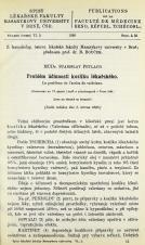 Obálka pro Problém účinnosti kozlíku lékařského / Le problème de l'action de valériane