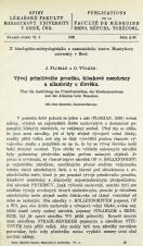 Vývoj primitivního proužku, kloakové membrány a allantoidy u člověka / Über die Ausbildung des primitivstreifens, der Kloakenmembran und der Allantois beim Menschen