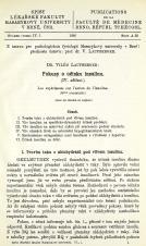 Obálka pro Pokusy o účinku insulinu : (lV. sdělení) / Les expériences sur l'action de l'insuline : 4ème communic