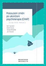 Obálka pro Posouzení změn po ukončení psychoterapie (CHAP): Česká verze manuálu