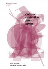 Obálka pro Výzkum v didaktice cizích jazyků