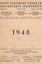 Obálka pro Spisy Lékařské fakulty, svazek 21. Intro