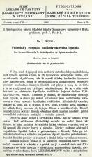Obálka pro Podmínky rozpadu nadledvinkového lipoidu / Sur les conditions de la desintégration de lipines surrénales