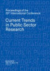 Obálka pro Current Trends in Public Sector Research. Proceedings of the 23rd International Conference